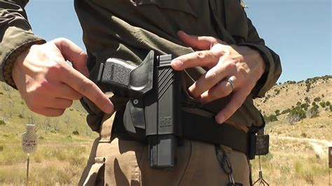 HT Holsters: Speed-Draw CC for Glock - YouTube
